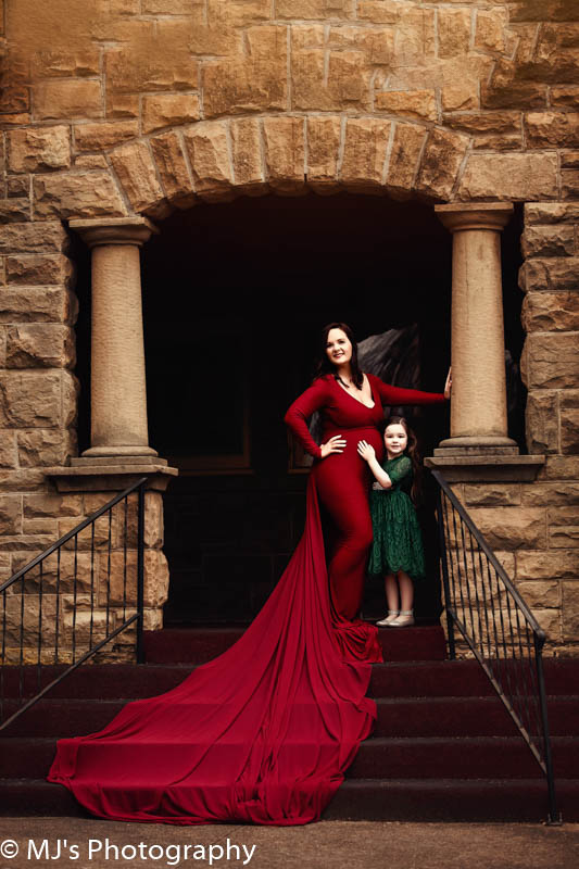 houston couture maternity gown